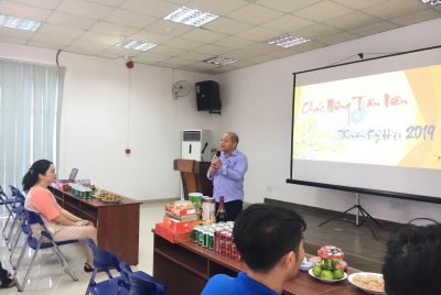 Dong Tien Paper Co., Ltd. held an exchange, meeting on the occasion of Ky Hoi New Year 2019
