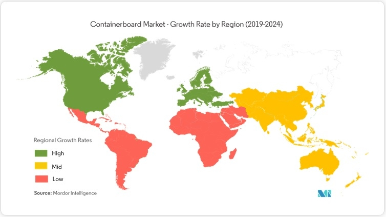 Containerboard Market Share Report 2019-2025 Industry Projections